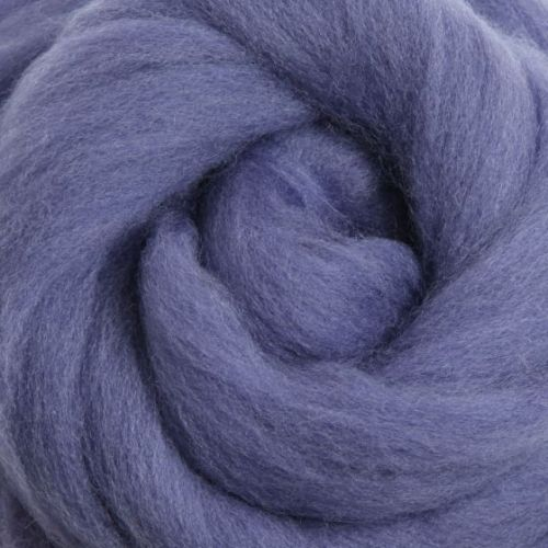 Wool Sliver - Blueberry Pie M