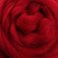 Wool Sliver - Cherry Red M