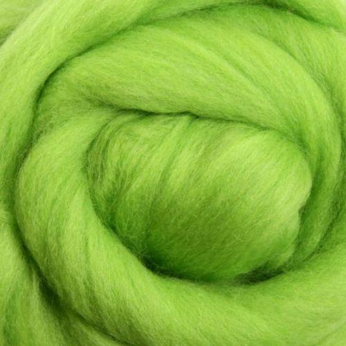 Wool Sliver - Lime M