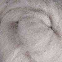 Wool Sliver - Light Grey - natural M