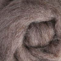 Wool Sliver - Medium grey - natural M