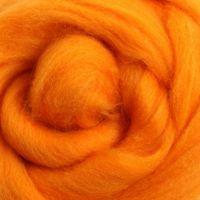 Wool Sliver - Tangerine M