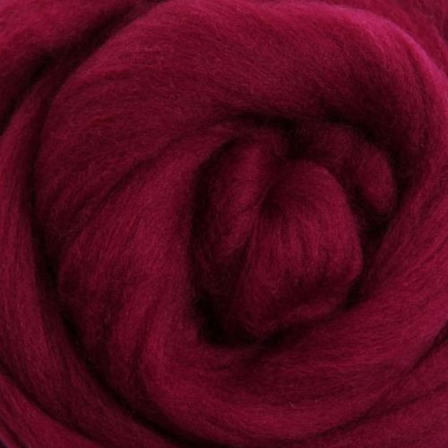 Wool Sliver - Raspberry M