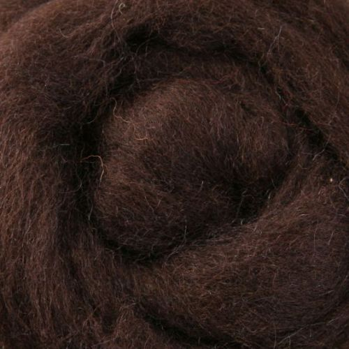 Wool Sliver - Chocolate C