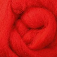 Wool Sliver - Chilli Pepper C
