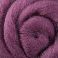 Wool Sliver - Grape Jelly