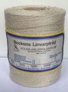 Linen rug warp yarn Swedish Bockens