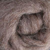 Wool Sliver - Medium grey - natural C