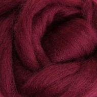 Wool Sliver - Aubergine C