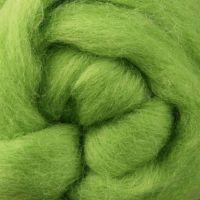 Wool Sliver - Lime C