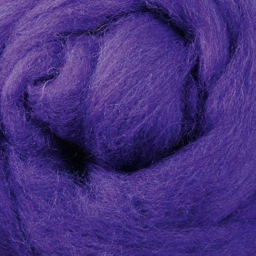 Wool Sliver - Purple C