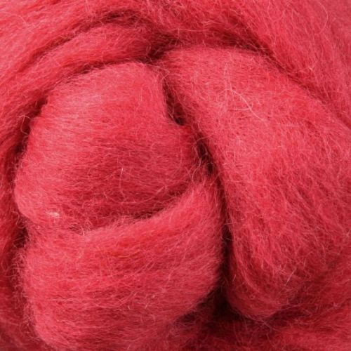 Wool Sliver - Strawberry Shortcake C
