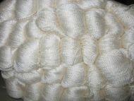 Silk Yarn 8/2 - White  500gm hanks