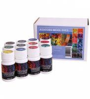 Dye Collection for Wool Set 12 Ashford